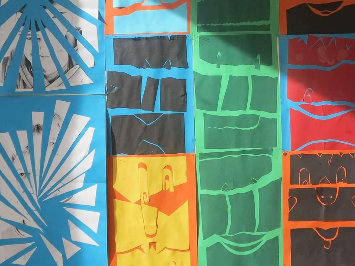 Kunstwerke Kampenwand-Schule (1)