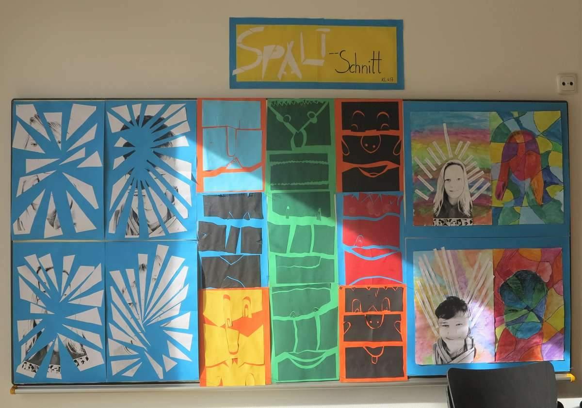 Kunstwerke Kampenwand-Schule (1b)