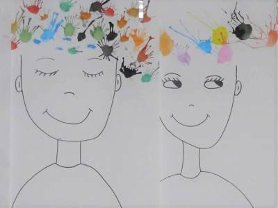 Kunstwerke Kampenwand-Schule (6b)